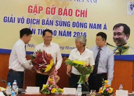Viet Nam dang cai Giai vo dich Ban sung Dong Nam A: Van thi dau bang bia… giay - Anh 1