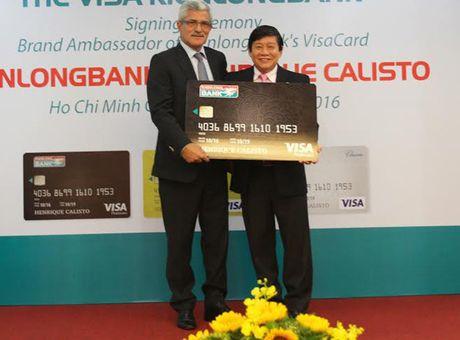 HLV Calisto lam dai su thuong hieu the tin dung Kienlongbank Visa - Anh 1