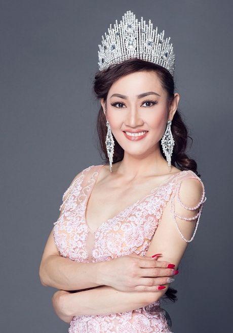 Tracy Hang Nguyen: Nhan sac goc Viet dac biet nhat Mrs World 2016 - Anh 1