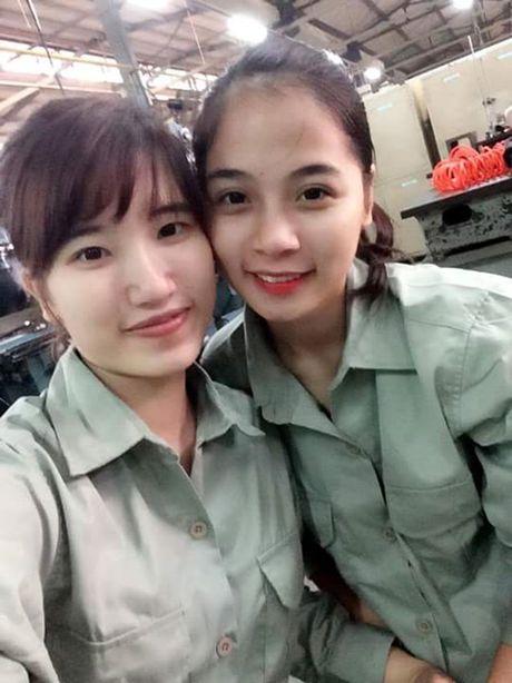 Co gai bat ngo noi tieng voi nick-name 'hot girl cong xuong' - Anh 2