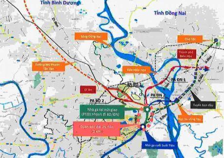 Tuyen metro so 1 o TP HCM se keo dai den Binh Duong, Dong Nai - Anh 1