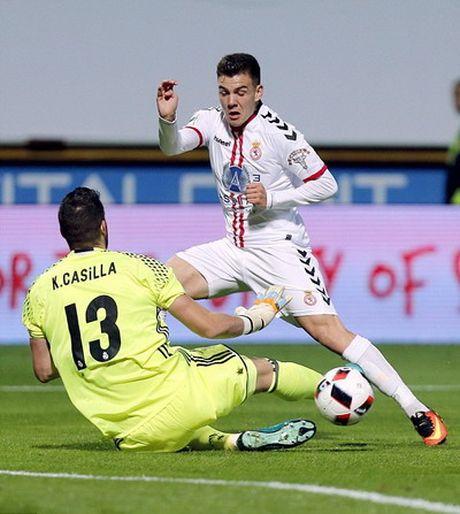 Xem sao Real Madrid lap sieu pham vao luoi Cultural Leonesa - Anh 2