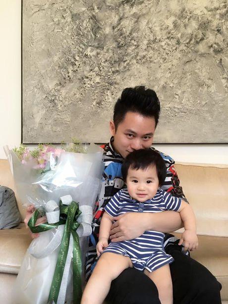 Con trai sieu dang yeu cua ca si Tung Duong - Anh 1
