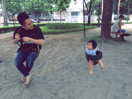 Con trai sieu dang yeu cua ca si Tung Duong - Anh 3