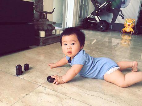 Con trai sieu dang yeu cua ca si Tung Duong - Anh 8