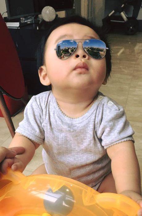 Con trai sieu dang yeu cua ca si Tung Duong - Anh 9
