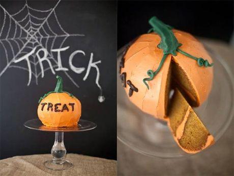 Halloween den gan, lam banh bi ngo 'than thanh' cho con rat de - Anh 1