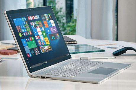 Surface Book phien ban moi manh me hon, pin tot hon - Anh 1