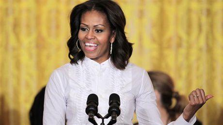 De nhat phu nhan My Michelle Obama se dan than vao chinh tri? - Anh 1