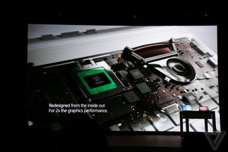Microsoft nang cap Surface Book: Pin 16 tieng, GPU moi - Anh 2