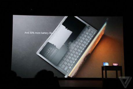 Microsoft nang cap Surface Book: Pin 16 tieng, GPU moi - Anh 4