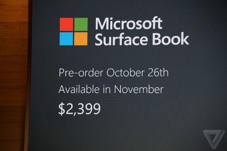 Microsoft nang cap Surface Book: Pin 16 tieng, GPU moi - Anh 6