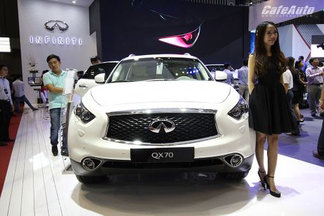 Can canh Infiniti QX70 Limited moi ra mat - Anh 1