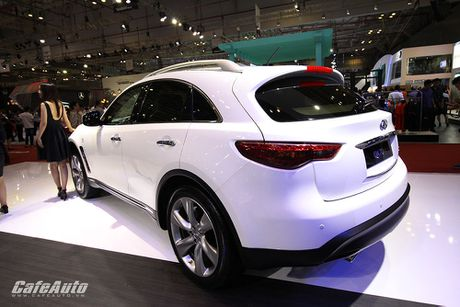 Can canh Infiniti QX70 Limited moi ra mat - Anh 2