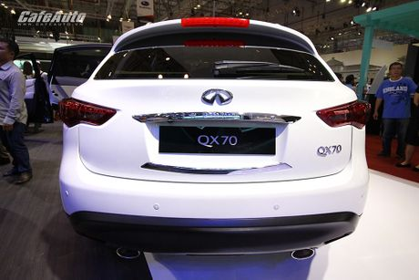 Can canh Infiniti QX70 Limited moi ra mat - Anh 5