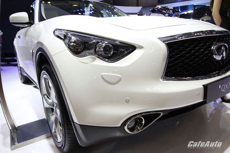 Can canh Infiniti QX70 Limited moi ra mat - Anh 6