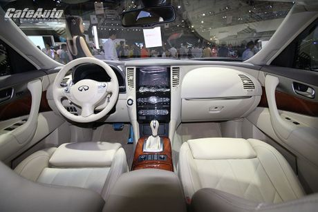 Can canh Infiniti QX70 Limited moi ra mat - Anh 8