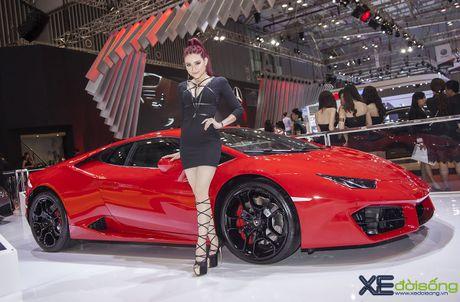 Lam Que Minh do dang sieu xe Lamborghini Huracan LP580-2 - Anh 1