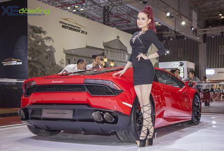 Lam Que Minh do dang sieu xe Lamborghini Huracan LP580-2 - Anh 3