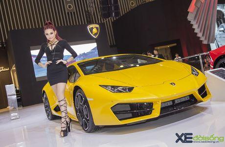 Lam Que Minh do dang sieu xe Lamborghini Huracan LP580-2 - Anh 4