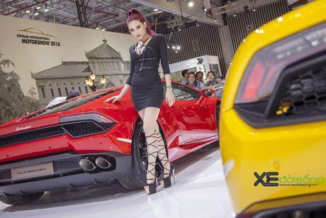 Lam Que Minh do dang sieu xe Lamborghini Huracan LP580-2 - Anh 5