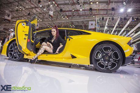 Lam Que Minh do dang sieu xe Lamborghini Huracan LP580-2 - Anh 6