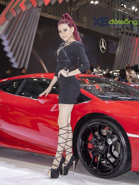 Lam Que Minh do dang sieu xe Lamborghini Huracan LP580-2 - Anh 8