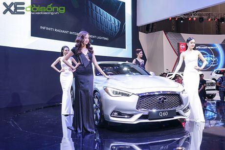 Coupe the thao hang sang Infiniti Q60 ra mat tai Sai Gon - Anh 1