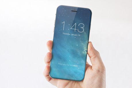 iPhone 8 toan than bang kinh, cam bien sieu am? - Anh 1