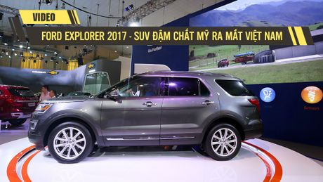 Can canh Ford Explorer 2017 - SUV dam chat My tai Viet Nam - Anh 1