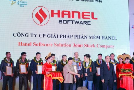 HanelSoft lot top 50 doanh nghiep CNTT hang dau VN nam thu 2 lien tiep - Anh 1