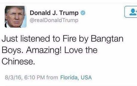 Tweet cu cua Donald Trump ve nhom BTS khien nguoi Han Quoc tich cuc ung ho Hillary - Anh 2