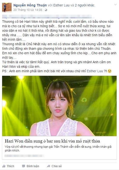 Hari Won - Thoi nam cham hut fan moi cua showbiz Viet - Anh 6