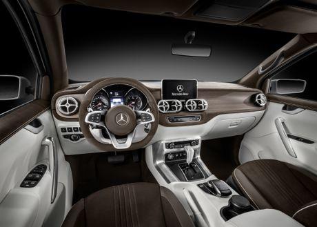 Mercedes-Benz X-Class: Phien ban hang sang cua Nissan Navara - Anh 3