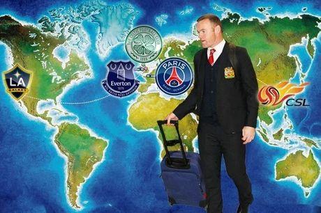 Roi M.U thi di dau bay gio, Rooney? - Anh 1
