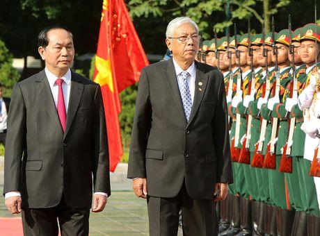 VN - Myanmar tang cuong hop tac nhieu mat - Anh 1
