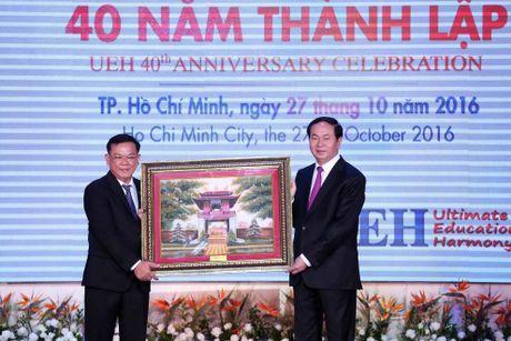 Chu tich nuoc Tran Dai Quang: 'Mo rong quy mo gan lien voi nang cao chat luong' - Anh 1