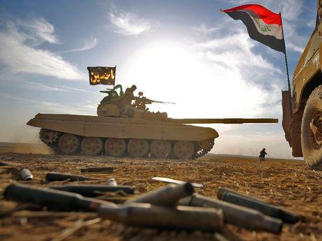 Gan 900 tay sung IS da bi tieu diet o Mosul - Anh 1