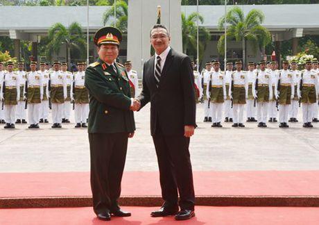 Tang cuong hop tac quoc phong gop phan thuc day quan he Doi tac chien luoc Viet Nam-Malaysia - Anh 2