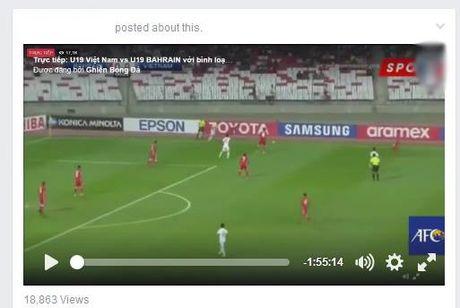 No ro live stream ban ket U19 Viet Nam - U19 Nhat Ban tren Facebook - Anh 2