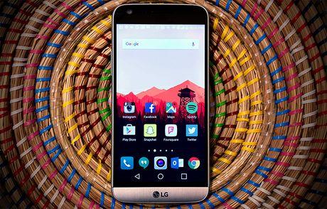 LG bao cao ket qua kinh doanh: 'TV lam, smartphone pha' - Anh 1