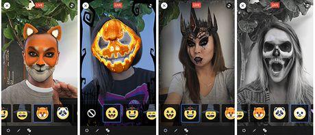 Facebook ra mat bo loc 'mat ma quai' cho ngay Halloween - Anh 1