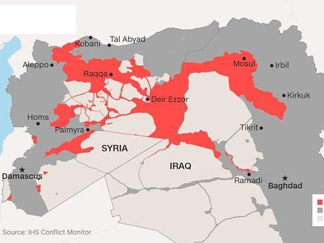 My can Nga tham gia chien dich danh Raqqa - Anh 2