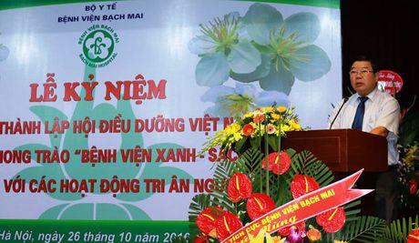 BV Bach Mai: Doi ngu dieu duong co nhieu sang kien trong kham chua benh - Anh 1