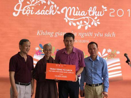 Hen ho thang 10, Hoi sach mua Thu 2016 - Anh 1