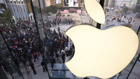 Trai qua mot nam day kho khan, Apple van lai 45,7 ty USD - Anh 1