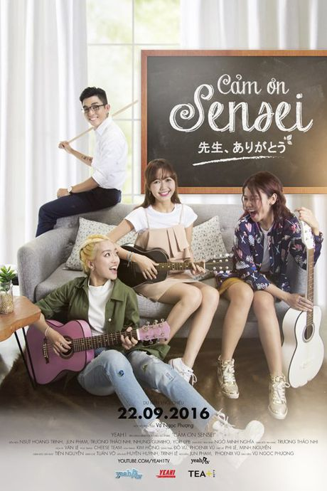 Jun Pham tiec nuoi chia tay webdrama 'Cam on Sensei' - Anh 1