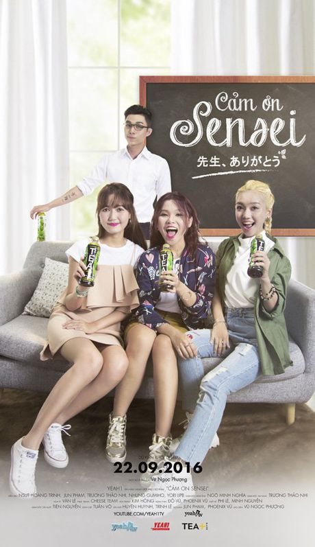 Jun Pham tiec nuoi chia tay webdrama 'Cam on Sensei' - Anh 5