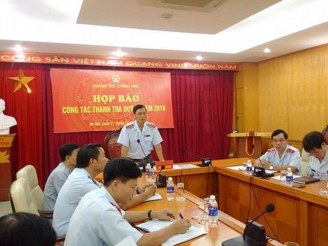 Thanh tra Chinh phu lieu co thanh tra toan dien Bo Cong thuong? - Anh 1