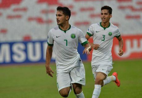 U19 Arab Saudi vao chung ket U19 chau A sau man ruot duoi kho tin - Anh 1
